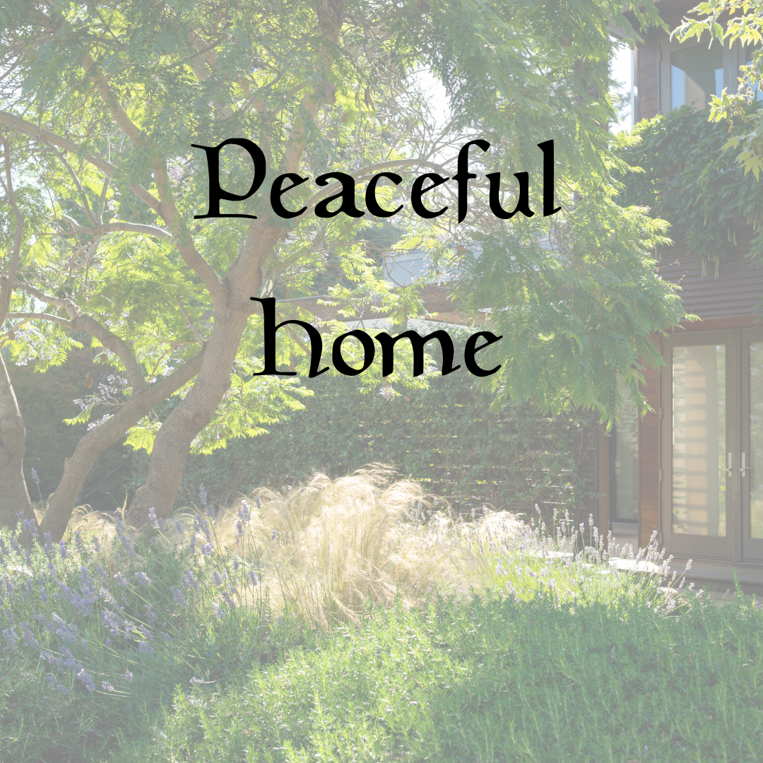 Peaceful Home Name